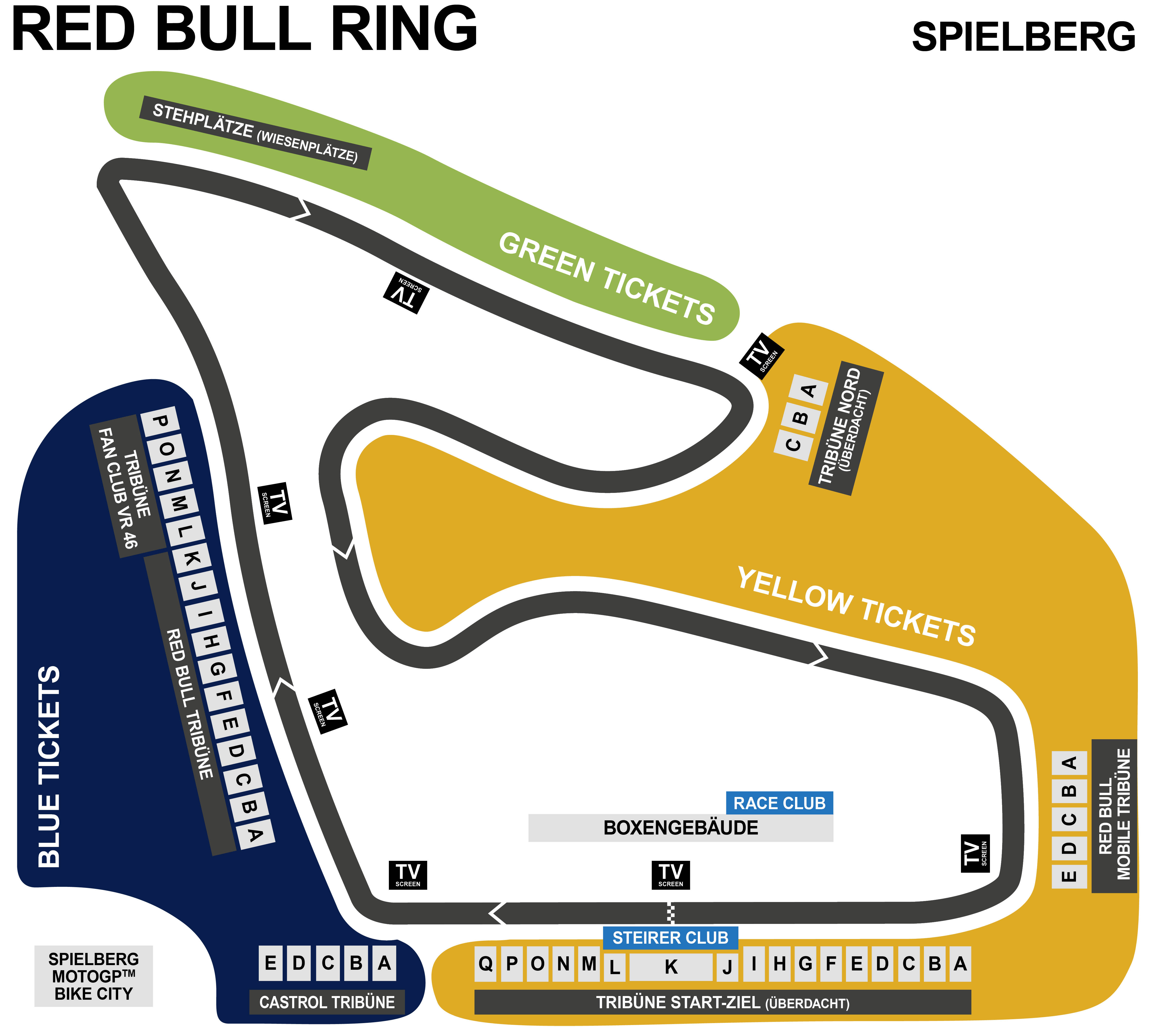 MotoGP Spielberg - Red Bull Ring, Spielberg = ticket.krone.at