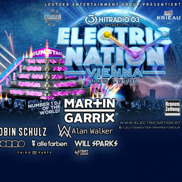 Electric Nation Vienna © Global Entertainment Group