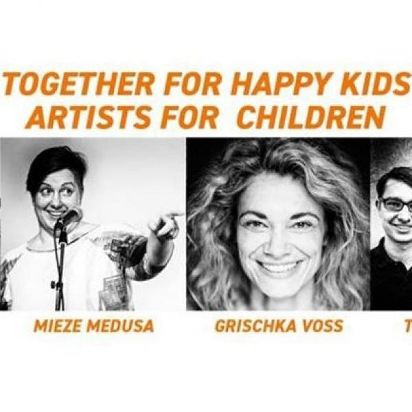 Together for Happy Kids - Artists for Children © Szene Wien