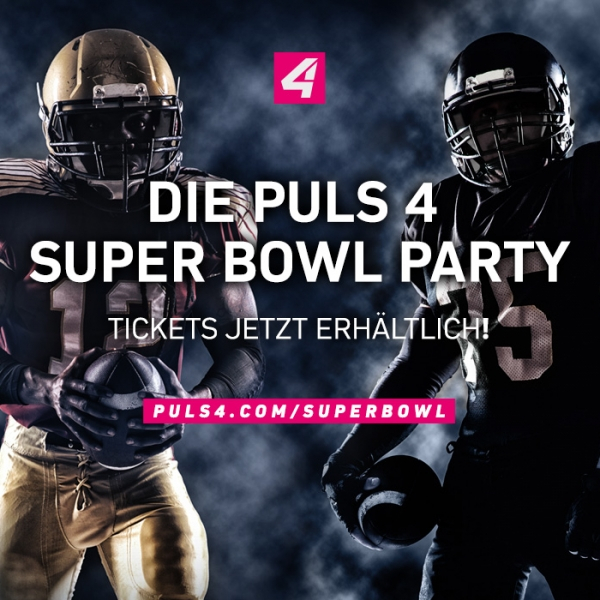 Puls 4 Super Bowl Party © Puls 4 TV GmbH & Co KG