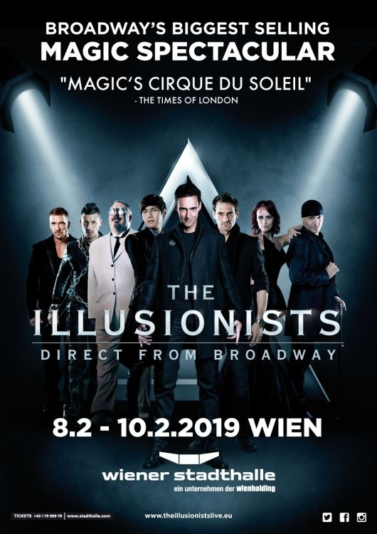 The Illusionists Live From Broadway Wiener Stadthalle Halle D