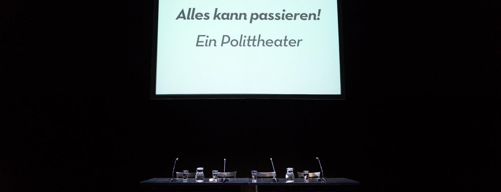 Alles Kann Passieren Ein Polittheater Burgtheater Wien Ticket
