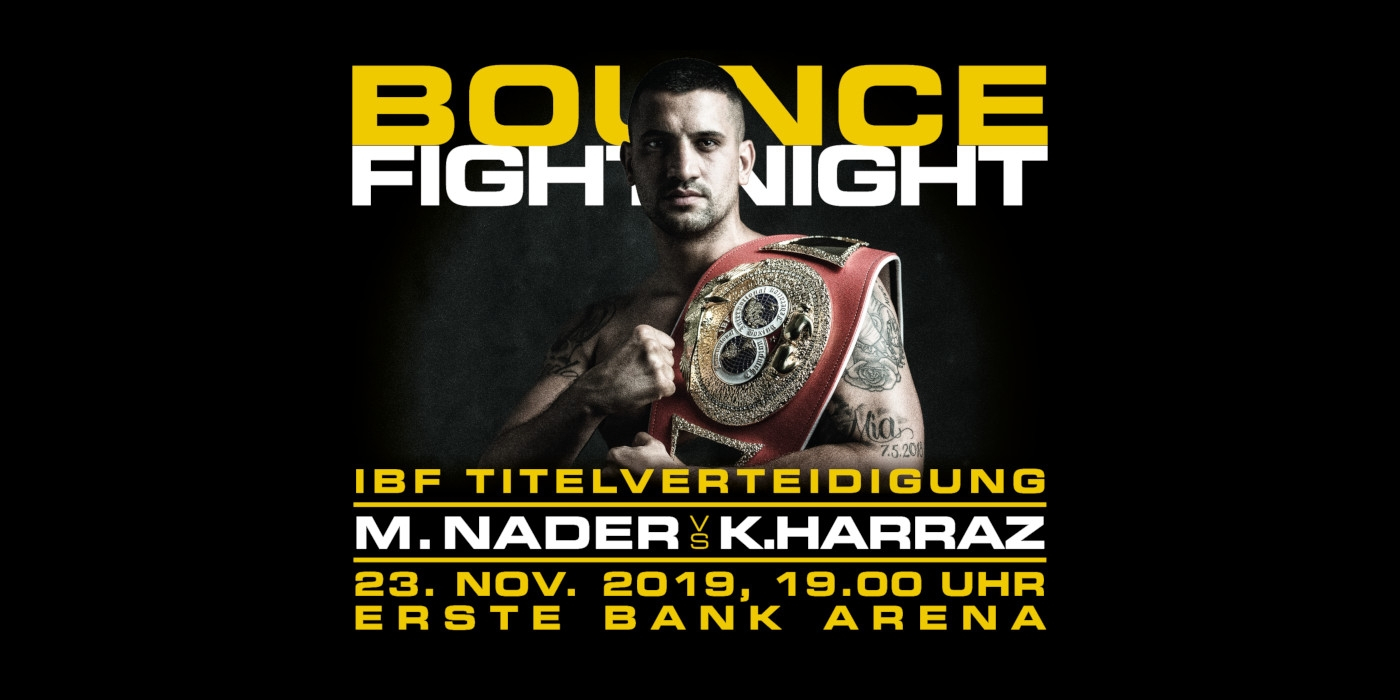 BOUNCE Fight Night © BOUNCE - the fitness zone Gesundheitsboxsportverein