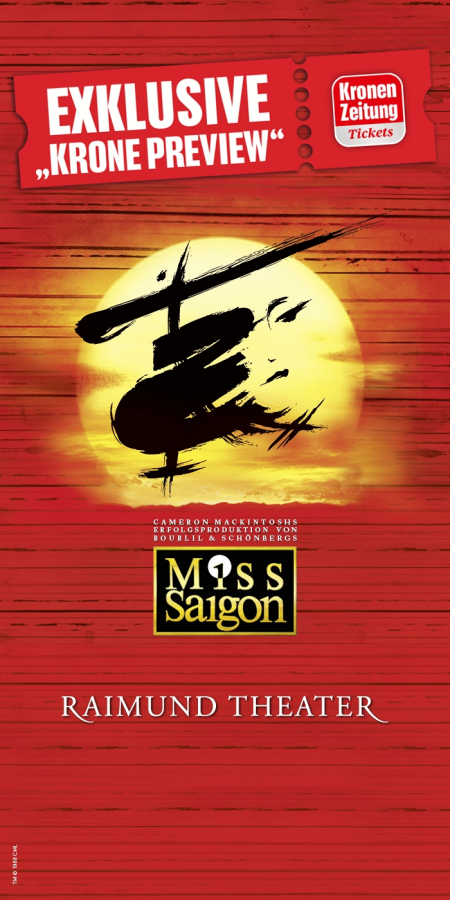 Miss Saigon Krone Preview © Miss Saigon, 1988 CML